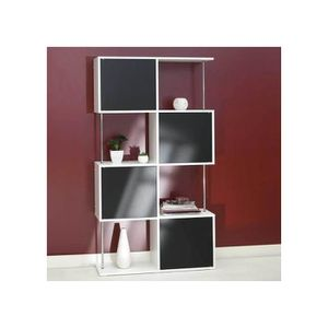 bibliotheque fermer achat vente bibliotheque fermer pas cher cdiscount. Black Bedroom Furniture Sets. Home Design Ideas