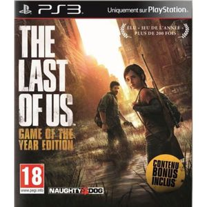 JEU PS3 The Last Of Us Complete Edition GOTY Jeu PS3
