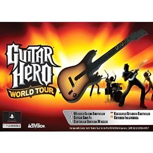 JEU PS3 Guitare Jeu Hero World Tour