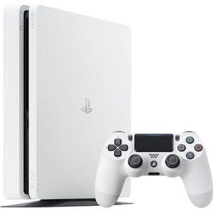 CONSOLE PS4 Console PS4 Slim 500Go Blanche/Glacier White - Pla
