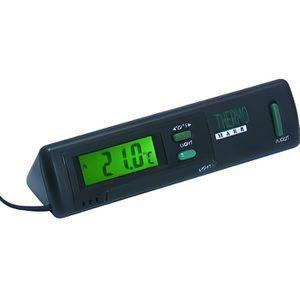 DÉCORATION VÉHICULE Thermomètre Intérieur / Exterieur Avec Eclairage