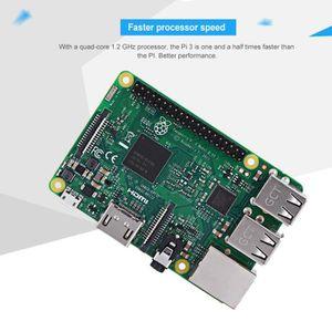 CARTE MÈRE Kit de démarrage Raspberry Pi 3 modèle B 3B de bas