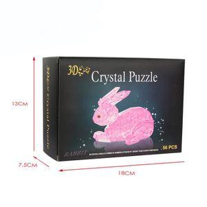 PUZZLE Puzzle 3d cristal puzzle football modèle diy gadge