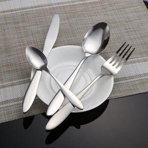 MÉNAGÈRE kit de 24 pcs de Vaisselle couvert acier inoxydabl