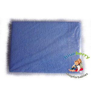 DRAP HOUSSE MATELAS Blueberryshop 2pièces Drap-housse en tissu éponge