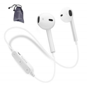 CASQUE - ÉCOUTEURS Youtime® Ecouteurs Bluetooth écouteurs de Sport Bl