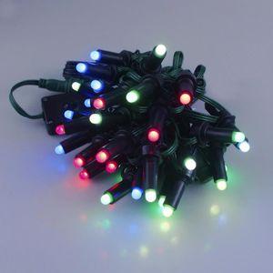 Guirlande Lumineuse 10M 80 Ampoules Guirlande lumineuse LED ...