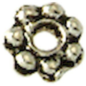 Perles de Pierre Turquoise Synthèse Croix 15mm Blanc crème Fil 39cm 25pc env