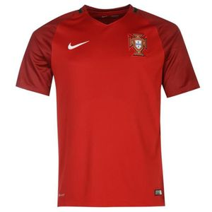 MAILLOT DE FOOTBALL Maillot Officiel Nike Portugal Home Euro 2016
