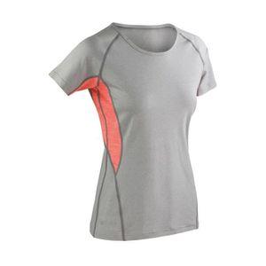 SPIRO Homme SPRINT top ACTIVE WEAR Z-Tech Stretch Séchage Rapide Léger tshirts