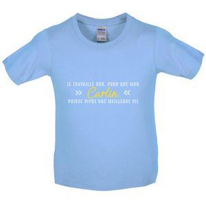 T-SHIRT Dressdown T-shirt  Je travaille dur pour que mon c