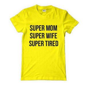 T-SHIRT Funny shirt t shirt super maman super femme super