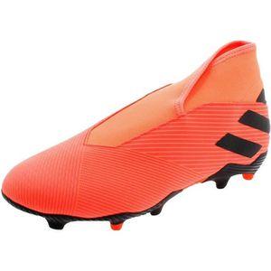 Chaussures de foot adidas orange - Cdiscount