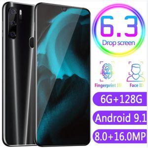 SMARTPHONE P35 Pro 6.3 Pouce Goutte D'Eau Plein Ecran Version