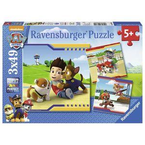 PUZZLE Ravensburger 9369 - Lot De 3 Puzzles - Pat Patroui