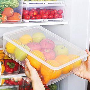 BOCAUX Boite de collecte de stockage Panier Cuisine Refri