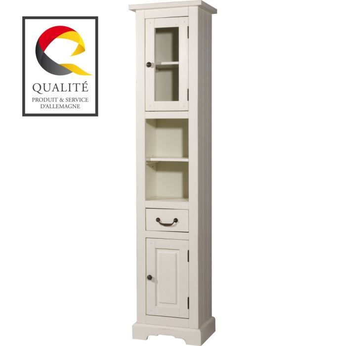 sevilla armoire haute de salle de bain achat vente. Black Bedroom Furniture Sets. Home Design Ideas