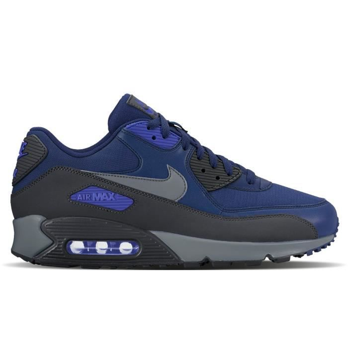 NIKE Baskets Air Max 90 Essential Chaussures Homme Bleu