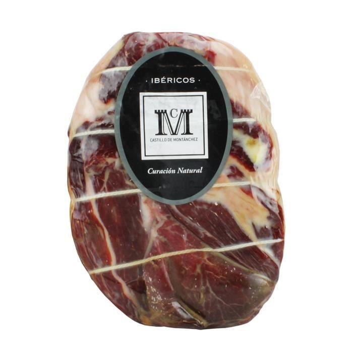 Jambon d'épaule ibérique désossée 18 Mois d'affinage Montanchez 2,5 Kg