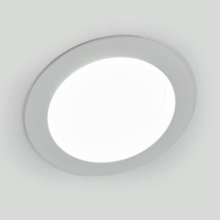 Lampenwelt spot encastrable LED pour salle de bain Piet