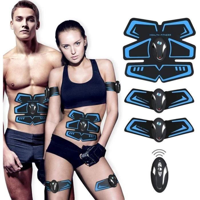Electrostimulateur Musculaire,Ceinture Abdominale Electrostimulation USB Charge,Appareil Abdominale Stimulation
