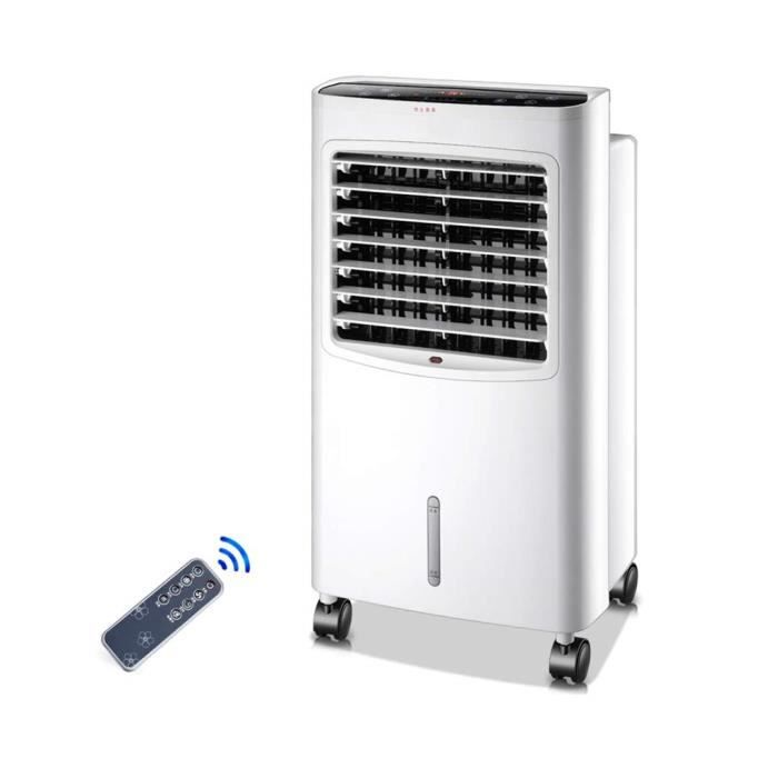 Climatiseur mobile,climatisation portative,avec Refroidissement, Chauffage, déshumidification, 12heures Minuterie Réservoir d'eau 10