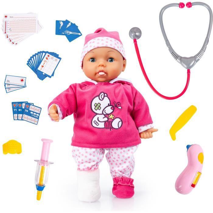 BAYER - Poupée Bébé, Docteur