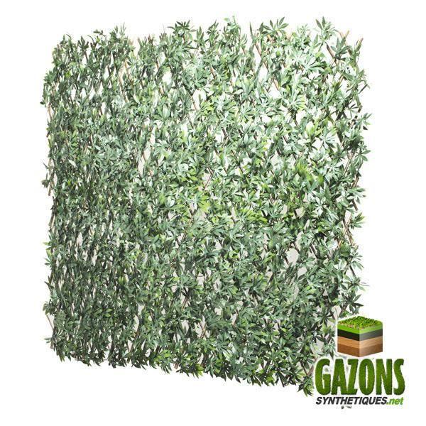 Treillis Extensible Feuilles de Vigne Vierge Verte 1m x 2m
