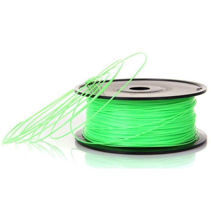 3D Printing Printer Filament Pla 1.75 / 3mm 1kg / Echantillon pour Reprap Makerbot vert