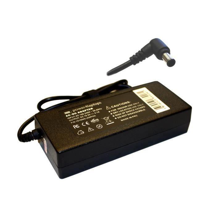 Sony Bravia KDL-32W706B Adaptateur CA secteur alimentation pour TV LCD - LED