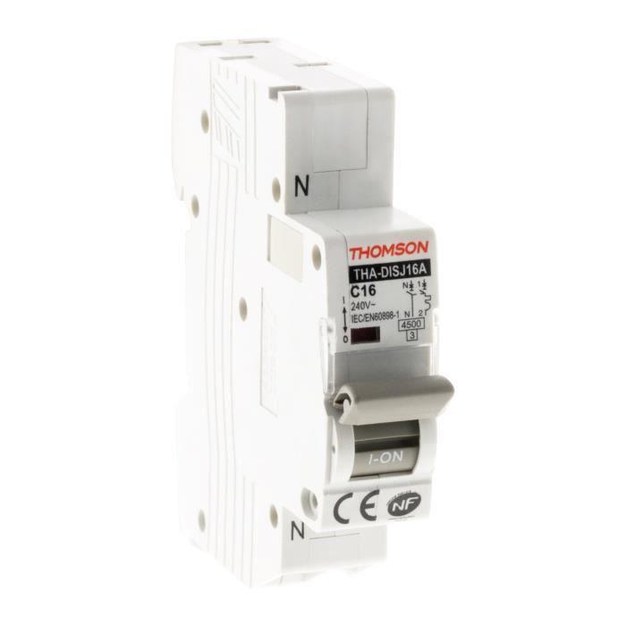 THOMSON Disjoncteurs à connexions automatiques PH+N - 16A NF