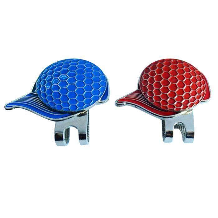 2 pièces Clip de chapeau de Golf de balle de et modèles de magnétique Ourdoor sur accessoires de fournitures de pour GRIP DE GOLF