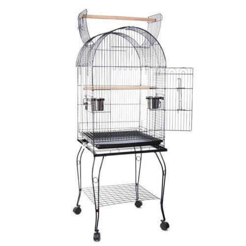 cage d oiseaux grande voli re anti rouille achat vente voli re cage oiseau cage d oiseaux. Black Bedroom Furniture Sets. Home Design Ideas