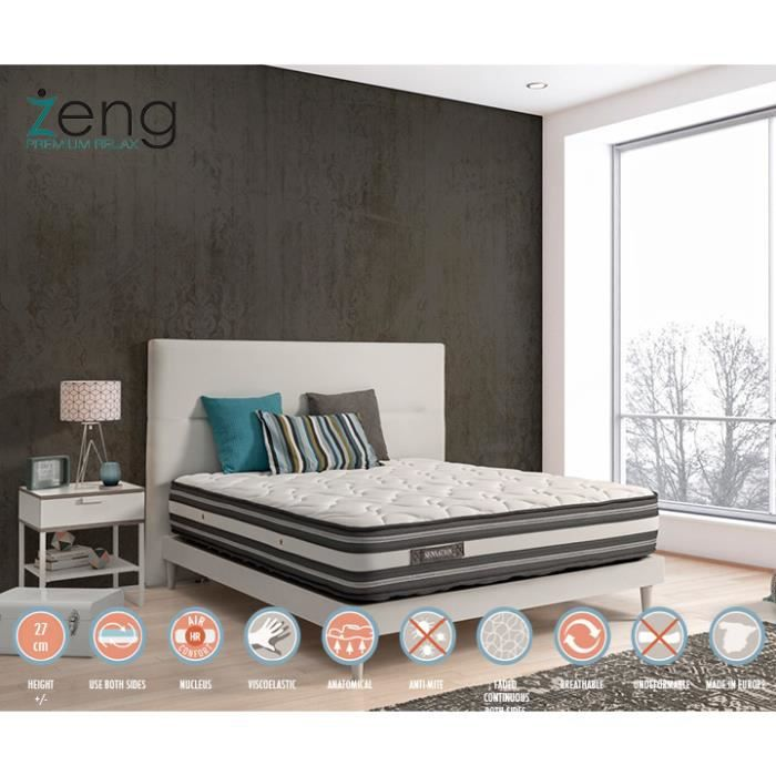 matelas 80x190 sensation 2 faces achat vente matelas. Black Bedroom Furniture Sets. Home Design Ideas