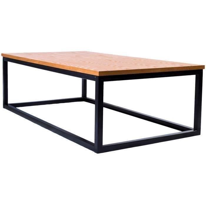 table basse industrielle achat vente table basse. Black Bedroom Furniture Sets. Home Design Ideas