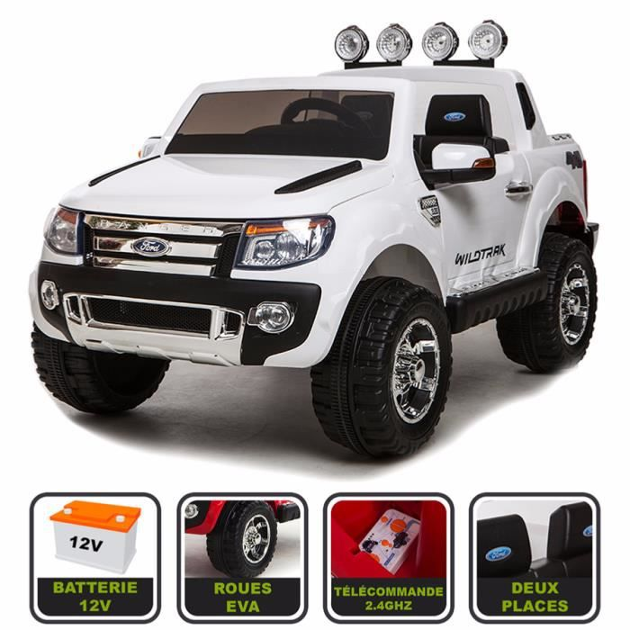 4x4 lectrique 12volts 10ah ford ranger wildtrak cristom t l commande pneu reelle. Black Bedroom Furniture Sets. Home Design Ideas