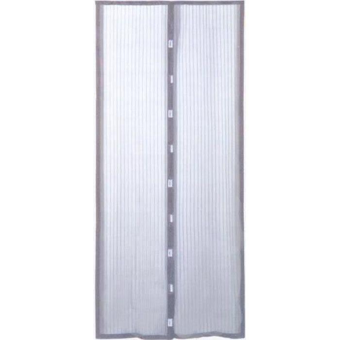 RIDEAU DE PORTE Rideau moustiquaire de porte aimanté 100xH220 c...