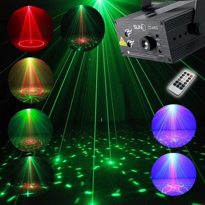 Laser disco pleine couleur rvb projecteur led light laser stage lighting rouge vert bleu led dj for Projecteur led laser