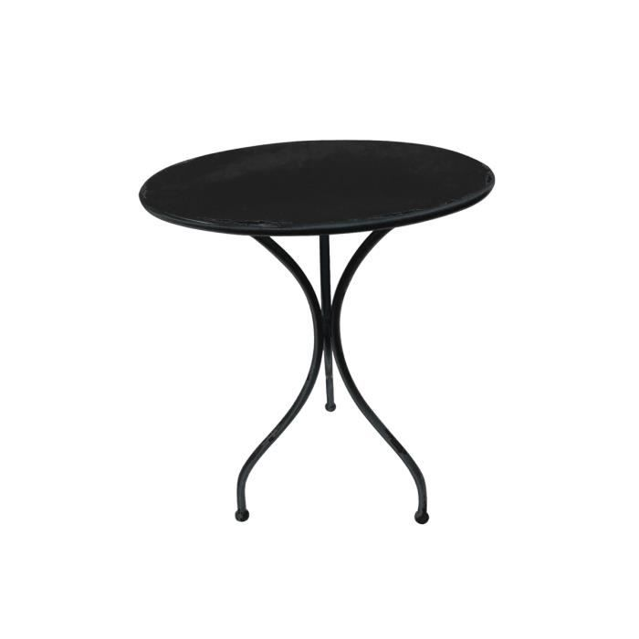 table ronde vintage eden achat vente table de jardin table ronde vintage cdiscount. Black Bedroom Furniture Sets. Home Design Ideas