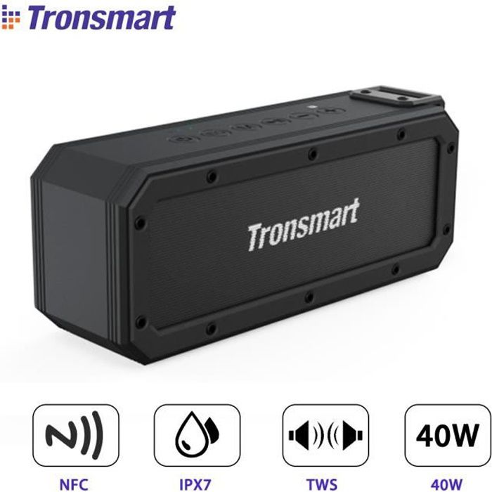 ENCEINTE NOMADE TRONSMART Enceinte bluetooth Sans fil NFC 40W 6600