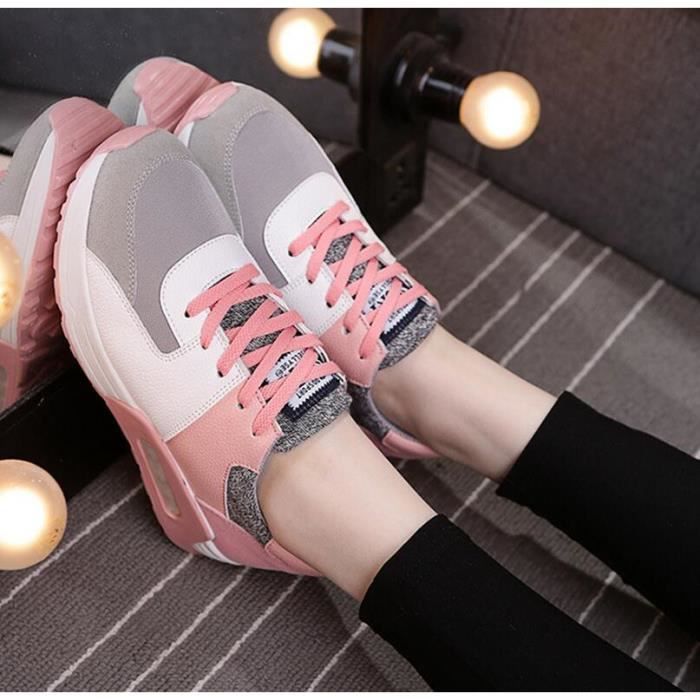 Spring Air Coussin de femmes Loisirs Mode Courir Sneakers
