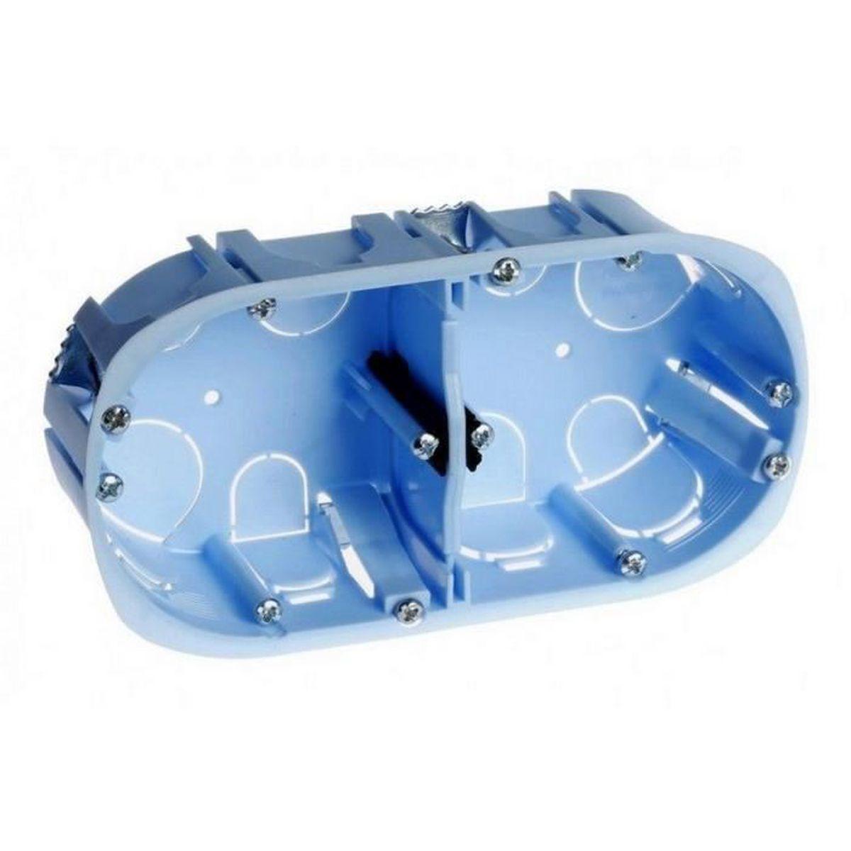 Boite dencastrement PACK de 100 BOITES D67 P40 EUR--52062