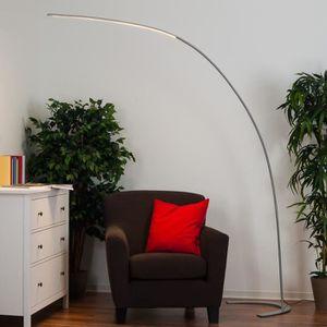 LAMPADAIRE Lampenwelt lampadaire LED en arc à intensité varia