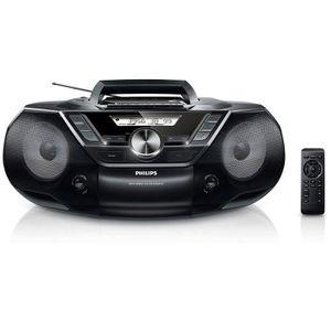 RADIO CD CASSETTE Philips AZ787 Lecteur CD et Cassettes Portable ave