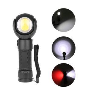 LAMPE DE POCHE T6 LED Lampe Torche d'atelier baladeuse led ultra