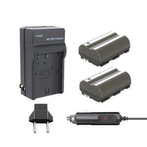 BATTERIE APPAREIL PHOTO BONACELL 2X 2200mAh Batterie de Remplacement et un