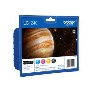 CARTOUCHE IMPRIMANTE Brother LC1240 Value Pack - Cartouche d'impressio…