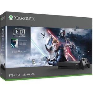 CONSOLE XBOX ONE Xbox One X 1To Star Wars Jedi : Fallen Order + 1 m