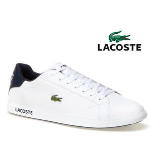 BASKET Baskets Lacoste Graduate White Dark Blue