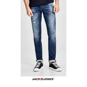 JEANS Jean Jack and Jones Glenn blue denim 12126063 96194eb78fab
